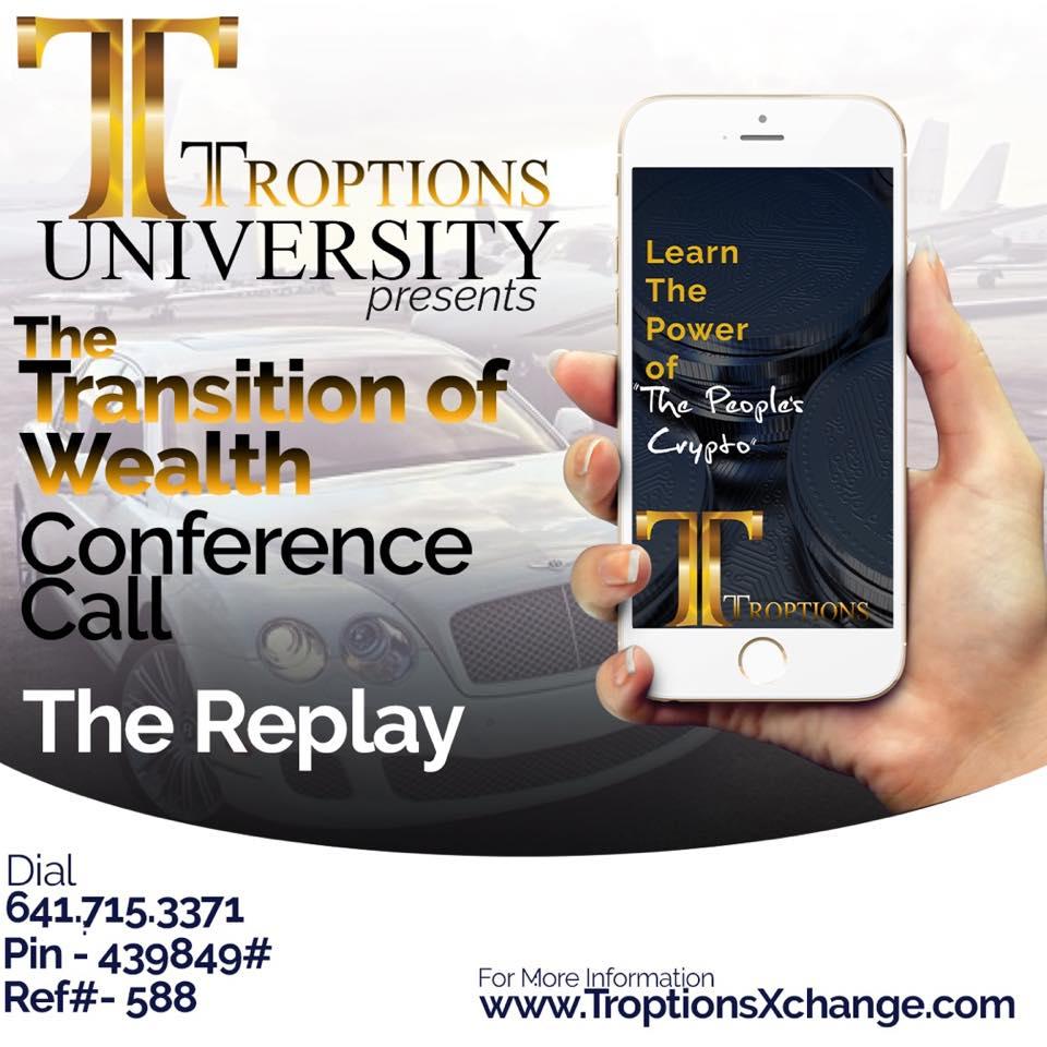 Troptions University Poster